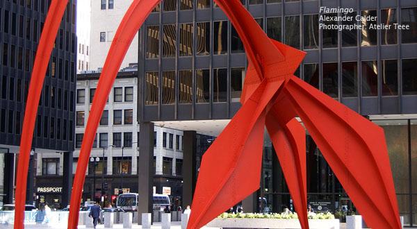 Flamingo, Alexander Calder