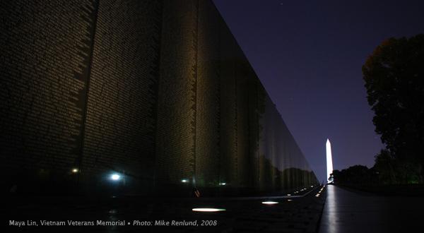 Maya Lin, Vietnam Veterans Memorial