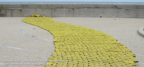 Carlos Nicanor, Yellow Brick Road, Havana Biennial, 2015